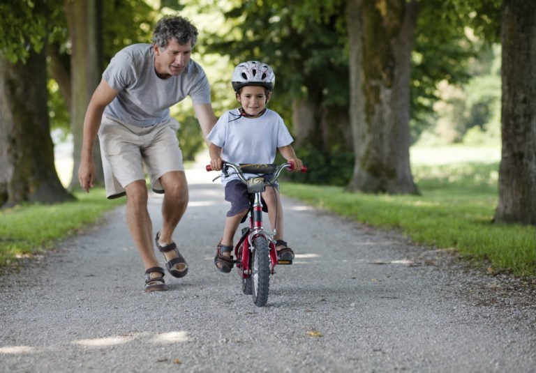 Teaching Your Child How to Ride a Bike