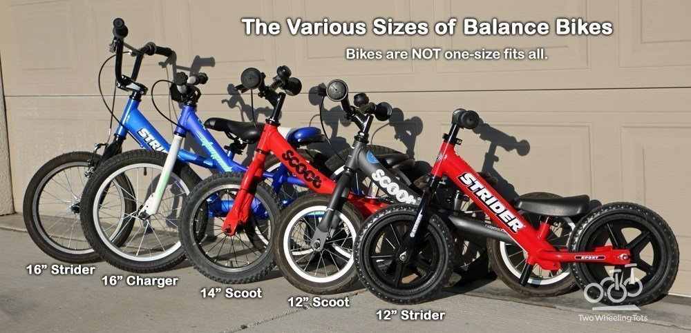 Balance Bike Sizes