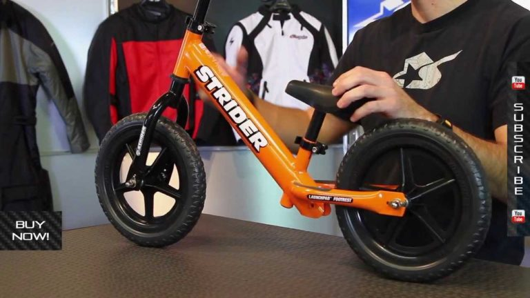 Strider ST-4 No-Pedal Balance Bike Review