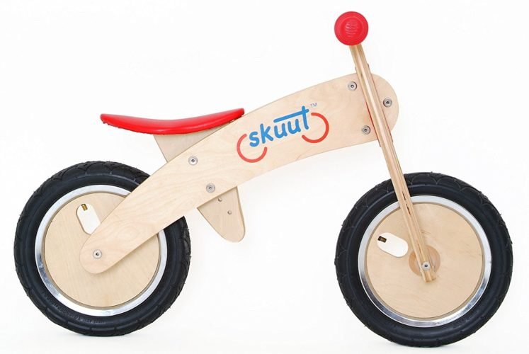 Diggin Active Skuut wooden bike