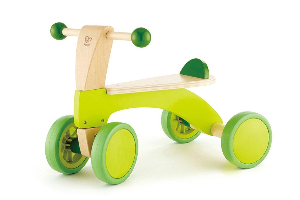 Hape scoot around kids wooden ride on balance bike