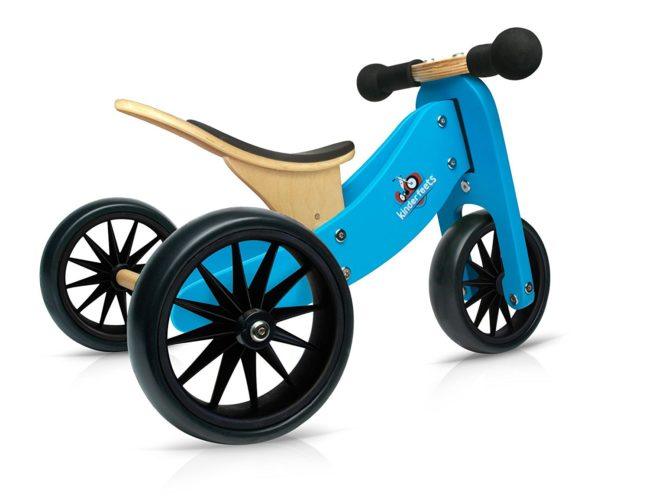 Kinderfeets tiny tot wooden balance bike