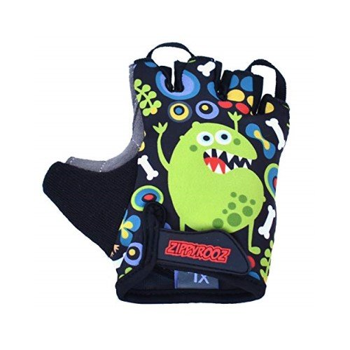 ZippyRooz Toddler & Little Kids Bike Gloves for Balance and Pedal Bicycles