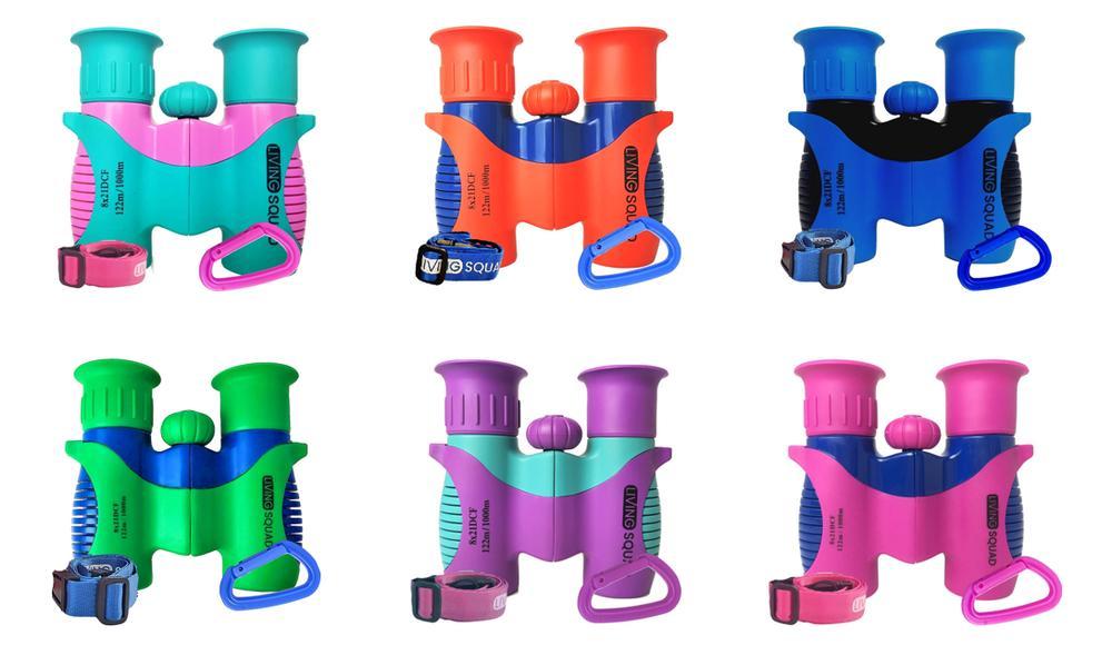 Range of Living Squad Binoculars
